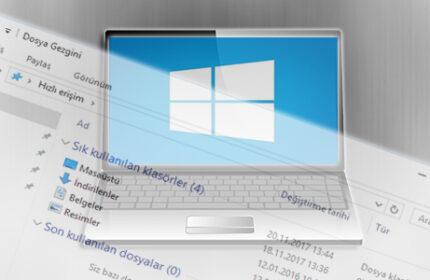 Windows 10′ da Son Kullanılan Dosyalar Nasıl Kapatılır?